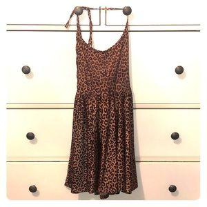 Cheetah print dress - American Apparel